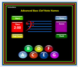 Advanced Bass Clef