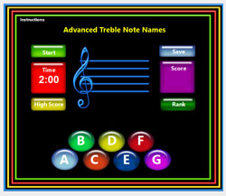 Advanced Treble Clef